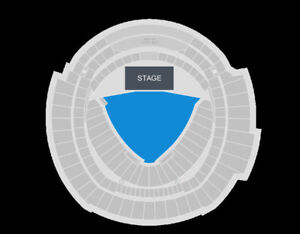 2 Foo fighters general admission tickets