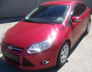 2012 Ford Focus SE Sedan 4 Cylinder 2.0 L