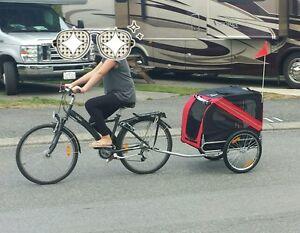Bike trailer $400 like new- used 10 minutes!