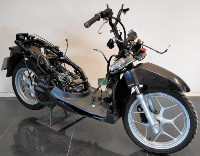 2015 64 Honda Anc 125 E Sh Mode 125 Scooter Project