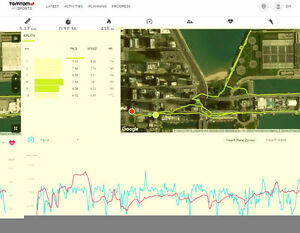 TOMTOM Runner GPS and Heart Rate Monitor London Ontario image 2