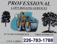 Professional Lawn Rolling Service