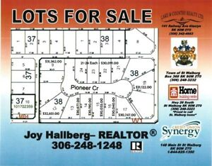 Pioneer Crescent Lots For Sale! St.Walburg