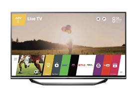 """1 year old LG 49"""" SMART 4K UHD HDR WIFI LED TV TELEVISION"""