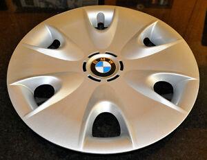 BMW : 4 roues rims d'acier et 4 enjoliveurs ( cap de roue ) OEM