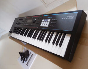 Juno DS61 synth + updated OS and case!