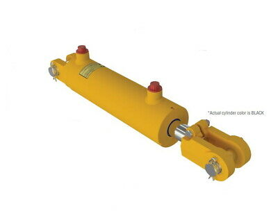 Eagle Hydraulic Cylinder Double Acting 2x4x1 18 Rod 3000psi Htg2004-orb-r 120
