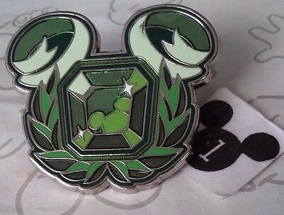 Wisdom Disney Dream Kingdom Mystery Box Green Mickey Mouse Icon Disney Pin