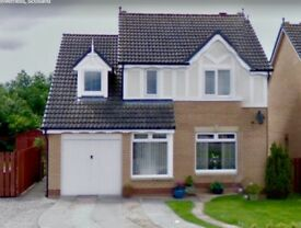 4 BED DETACHED HOUSE & GARAGE, INVERNESS -AVAIL 01.12.17. Sought after area close to all amenities.