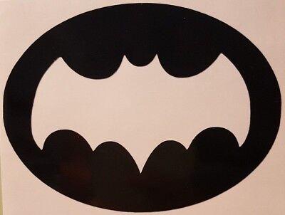 Batman '66 logo Vinyl Sticker Decal home laptop choose size/color
