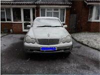 Lpg Silver Automatic Mercedes C180 2001 ONLY £995 works perfectly fine