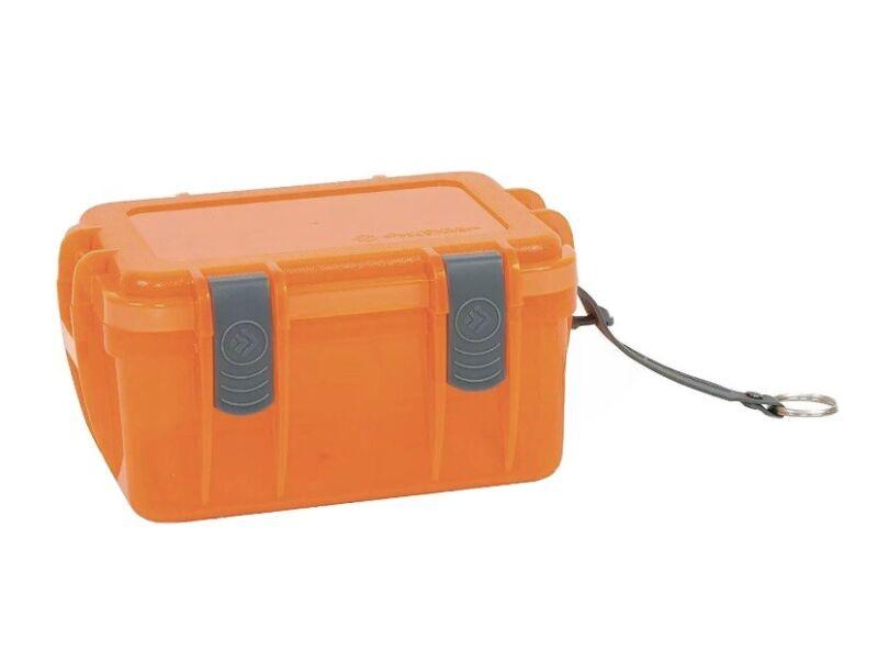 Outdoor Products Watertight Box, Large, Shocking Orange