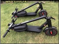"""ELECTRIC SCOOTER E9 PRO 2021 TOP SPEED 30kmh FOLDING 8.5"""" inch Tyre solid HONEYCOMB COLLECTION ONLY"""
