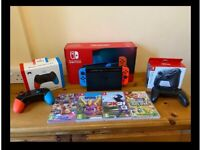 Nintendo Switch Bundle - Neon with improved battery