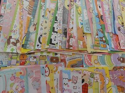 Lot 90 cute kawaii memo note paper stationery crux q-lia kamio san-x gift DEAL