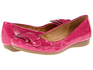 Naturalizer Women's Valya Ultra Pink FLATS Shoes US Size 9,5