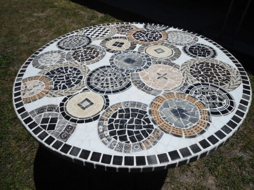 ***** CUSTOM MADE MOSAIC TABLETOPS *****20 YRS EXPERIENCE ** PIECE MADE