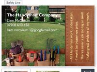 The Handyman company has over 15 years experience in the building trade.