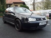VW Golf V6 4motion 2003 85600 Miles