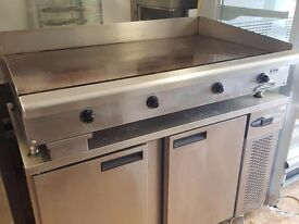 Large Imperial Griddle ITG-48-E Three Phase Electric