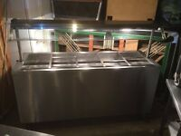 MOFFAT Commercial Hot Cupboard - Bain Marie - Heated Gantry