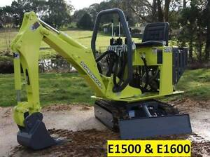 AUSTRALIAN MADE Compact Excavator E1500 Carwoola Queanbeyan Area Preview