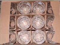 PASABAHCE GLASS TUMBLERS. 12 PER BOX. PUB QUALITY.