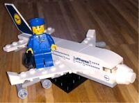 Lego 40146 Lufthansa Flugzeug Rarität! Dresden - Räcknitz/Zschertnitz Vorschau