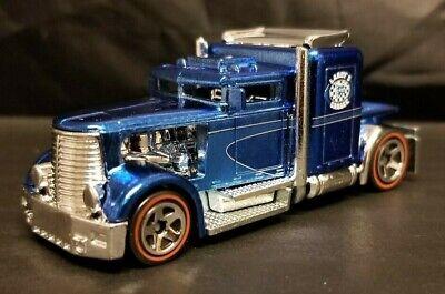 Hot Wheels Classics Series 5 Custom Convoy, Blue, Redline 5 Spokes, Minty Loose