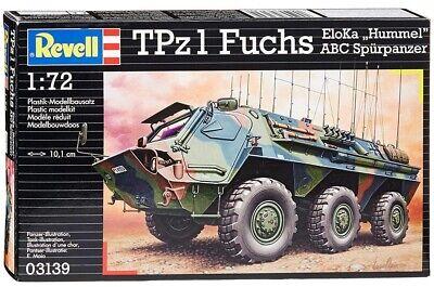 Revell 03139 TPz1 Fuchs EloKa Hummel ABC Spurpanzer 1:72 German Military Kit