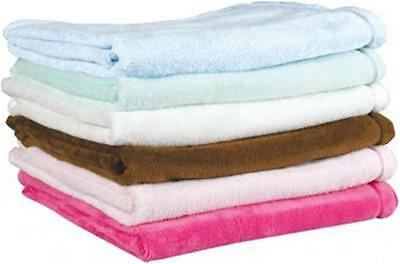 Baby boy or girl Soft Crib Blanket made from Tahoe Fleece- S