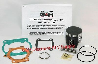 Yamaha YFS 200 Blaster Top End Rebuild Kit Cylinder Machining Service YFS200 ATV