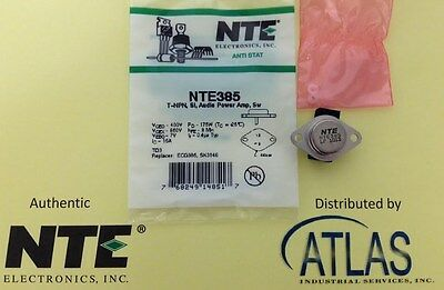 Nte Nte385 Audio Power Amp Switchtransistor