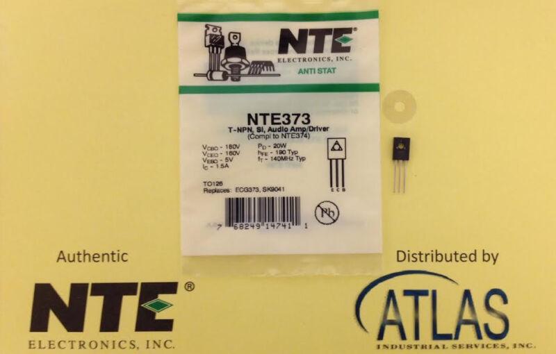 NTE NTE373 T-NPN, Si, Audio Amp/Driver