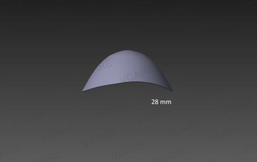Corneal Shield Protector 28mm Stainless Steel Ocular Eye Shield Stainless Steel