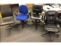 Free office chairs x 4