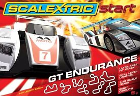 Scalextric start GT endurance set in box ,great condition