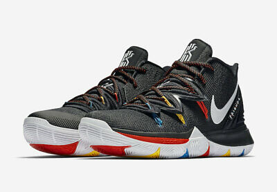 2019 NIKE KYRIE 5 FRIENDS Black/White-Bright Crimson-Amarillo AO2919-006 IRVING