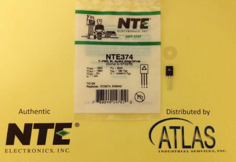 NTE NTE374 T-PNP, Si, Audio Amp/Driver