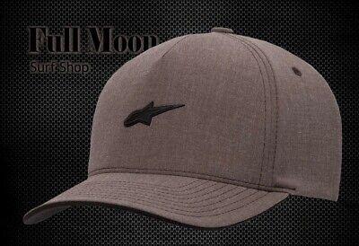 Stamp Hat - New Alpinestars Hearth Mens Stamp Logo Flexfit Cap Hat