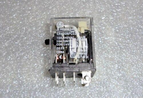 GE GENERAL ELECTRIC RELAY CR420NPC0224 CR420N Series  DT