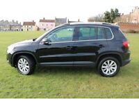 2009 (59) Volkswagen Tiguan 2.0TDI 140ps 4Motion Tiptronic SE AUTO 4X4 BLACK