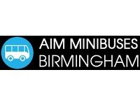 24hr Birmingham Minibus Hire With Driver - Tours - Excursions - Nights Out - Save 27% Today
