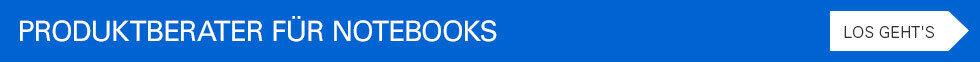 Produktberater für Notebooks - Los geht's