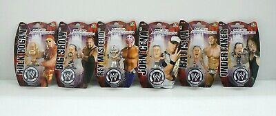 WWE Wrestling Micro Aggression. SET Completo 6 Micro Action Figure. Giochi P...