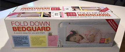 Vee Bee Fold Down Bedguard x 2