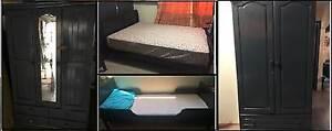 Garage sale at West Ryde (Queen & junior bed, 2 & 3 door wardrobe West Ryde Ryde Area Preview