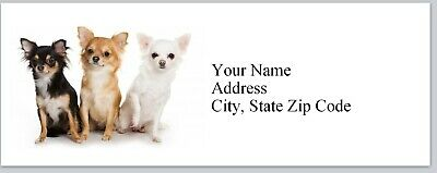 Personalized Address Labels Chiwawa Dogs Buy 3 Get 1 Free Bx 229