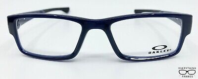 OAKLEY 8046 0453 Blue Ice Airdrop New Authentic Eyeglasses 53