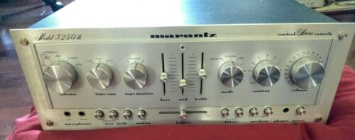 SERVICED Marantz 3250B Stereo Preamplifier MM/MC Phono RARE preamp EXCELLENT